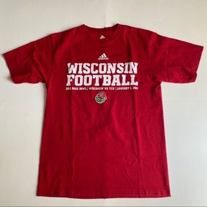 Adidas Wisconsin Badgers 2011 Rose Bowl T-Shirt